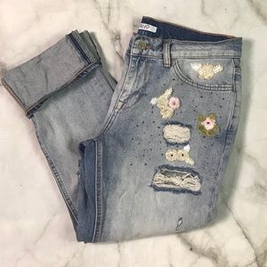 ✂️ Liu Jo embroidered jeans